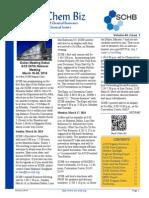SCHB Spring 2014 Newsletter