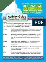 CMH Events Thur 3.13.14