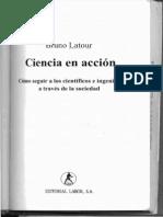 Ciencia en acción, Bruno Latour