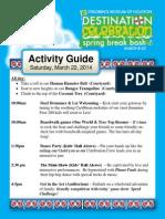 CMH Events Sat 3.22.14