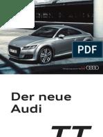 Audi TT Product Flyer (Germany)