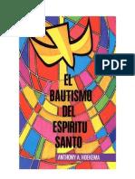 Bautismo Espírutu Santo A. Hoekema