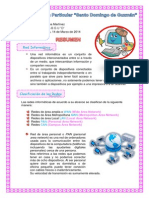 Resumen de Red Informatica Topologias e Internet