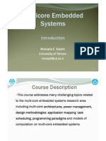 Multi-proccessor Embedded System