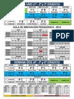 Horario Del AIP FyA26 - 2014