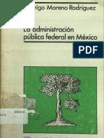La Administracion Publica Federal en Mexico