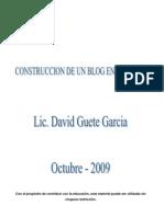 Pasos Para Crear Un Blogs en Blogger David Guete Garcia[1]