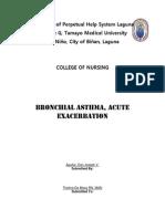 Case Pres. - Bronchial Asthma