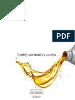 Gestión de aceites usados