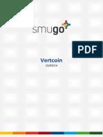 Report Vertcoin 20140312