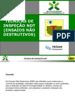 TECNICAS DE INSPEÇÃO NDT