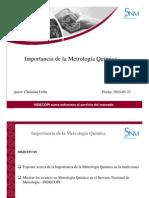 Importancia de la Metrología Química(1)