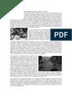 Conflicto Armado Interno de Guatemala 1960