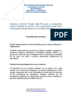 ASESORÍAS Y SERVICIOS VIRTUALES SIGLO XXI