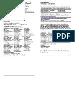 Locust Grove Bulletin for October 18, 2009