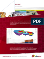 Minemax Planner Brochure