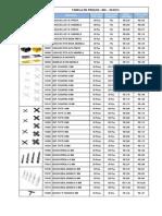 Tabela Mg 05-2013 Junho 2013