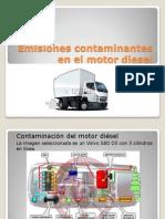 Emisiones Contaminantes en El Motor Diesel