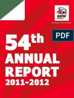 SCL Annual Report 2011-12