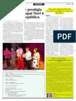 Rreportagem orquestra estudanti - lORQUESTRA ESTUDANTIL -  O REPORTER- DEZ 2013 - Pag 15 - Cultura -  Reg. Jair Gonçalves Ijui IMEAB- COR