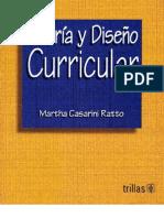TEORIA Y DISEÑO CURRICULAR001
