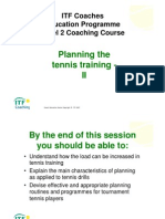 Antrenament Tenis