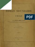 Los fósiles secundarios de Chile. 1899