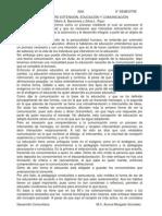 Analisis Relacion Entre Extension-educacion-comunicacion