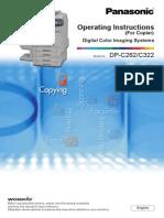 Printer Panasonic DPC Manual