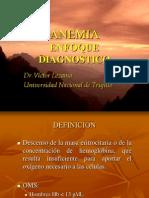 Anemia Enfoque Diagnostico