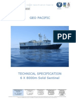 Lampiran 1. Spesifikasi Kapal Seismik