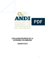Evolucion Reciente de La Economia Colombiana Agosto 2013 20130823 101507