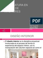 Licenciatura en diseño de interiores