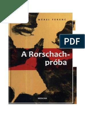 a rorschach proba budapest medicina, 2002  2009 es rditechnika vknyve pdf [pdf