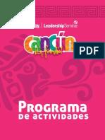 Programa Actividades Cancun