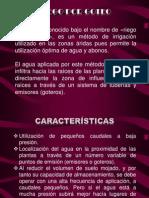 Riego Por Goteo (Edgar Quintero)