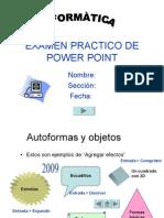 Examen Practico de Power Point