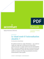 Accenture Le Cloud Rend Il Externalisation Obsolete Final