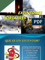 Uso de Extintores Portatiles