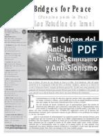 Antijudaismo Antisemitismo y Antisionismo