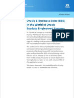 Oracle E-Business Suite (EBS) in the World of Oracle Exadata Engineered Systems