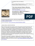 Revel Struck & Ferris Introduction Space and Scale in Transnational History the International History Review 2011 33