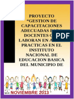 Gestion de Capacitaciones. Areas Practicas