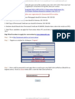 JNTUH OD Procedure 2013 Pass Outs