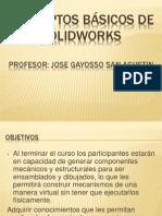 CONCEPTOS BÁSICOS DE SOLIDWORKS