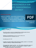 community diagnosis of nakasongola district