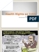 Right to Health - India