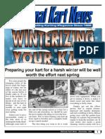 Winterizing Your Kart