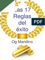 Las 17 Reglas Del Exito Og Mandino