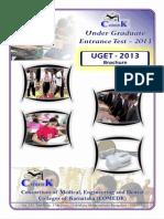 Comedk Uget 2013 Brochure